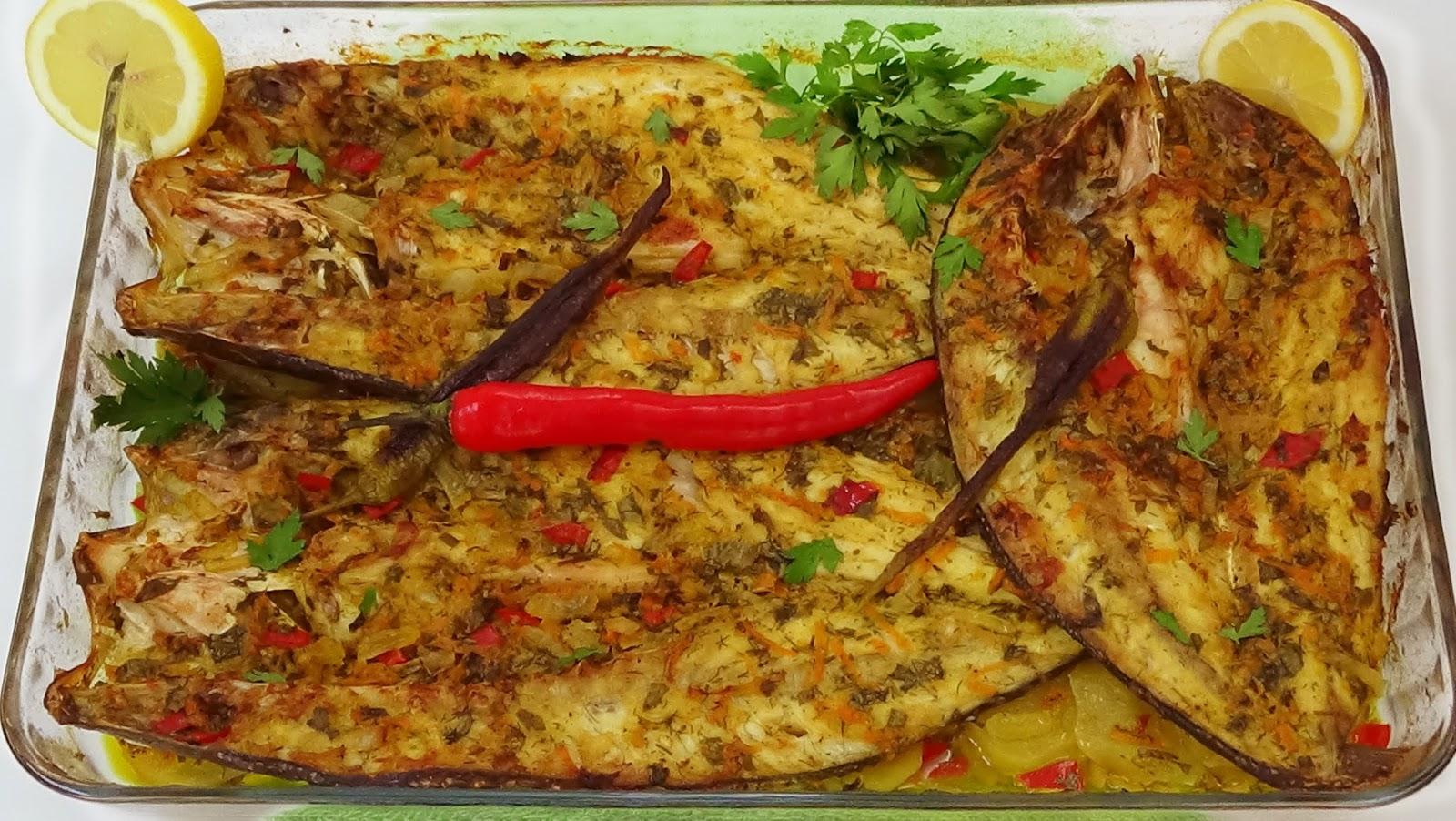 السمك السنجاري بالبطاطس
