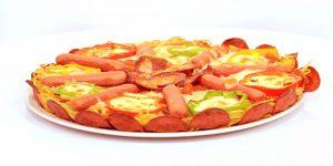 طريقة تحضير بيتزا المكرونة