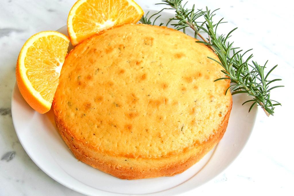 كيكة البرتقال الشهية