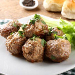 كرات اللحم المقلية