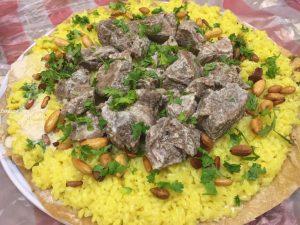 المنسف الأردني باللحم