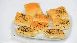 فطيرة الجبنة والبندق