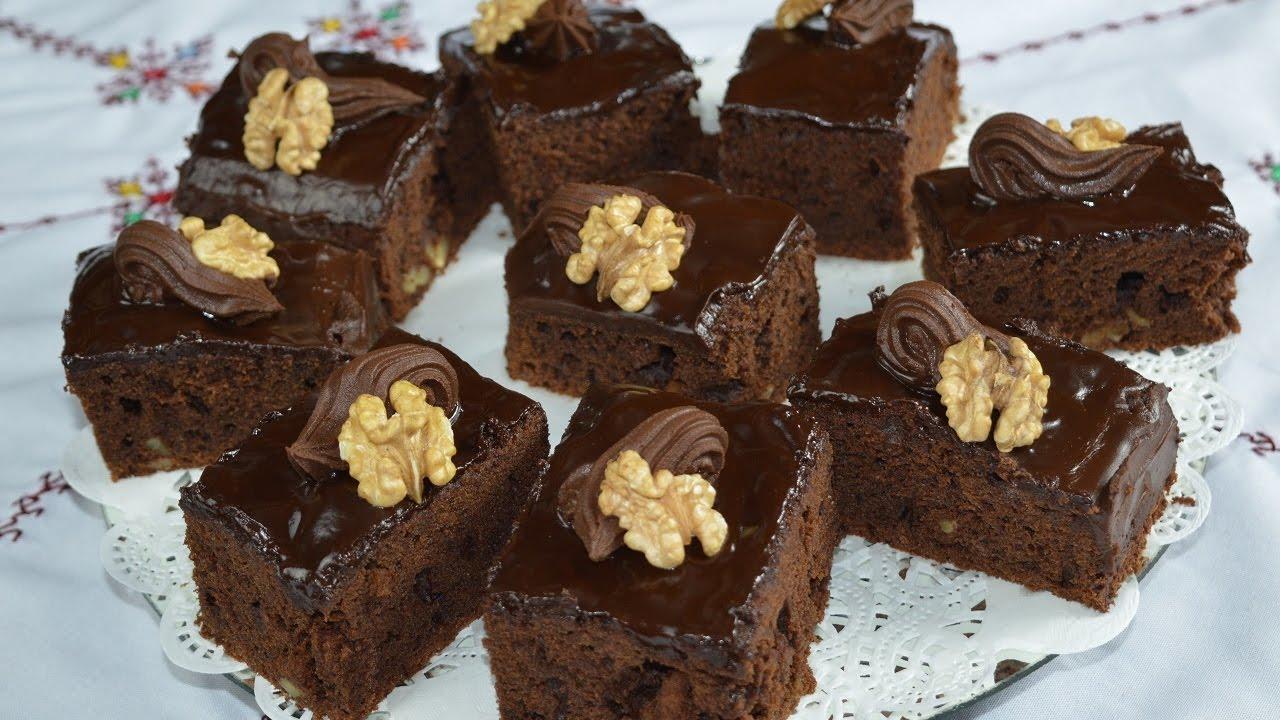 براوني الشوكولا بالنكهة الألمانية