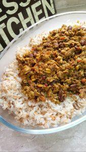الأرز بالشعيرية واللحمة