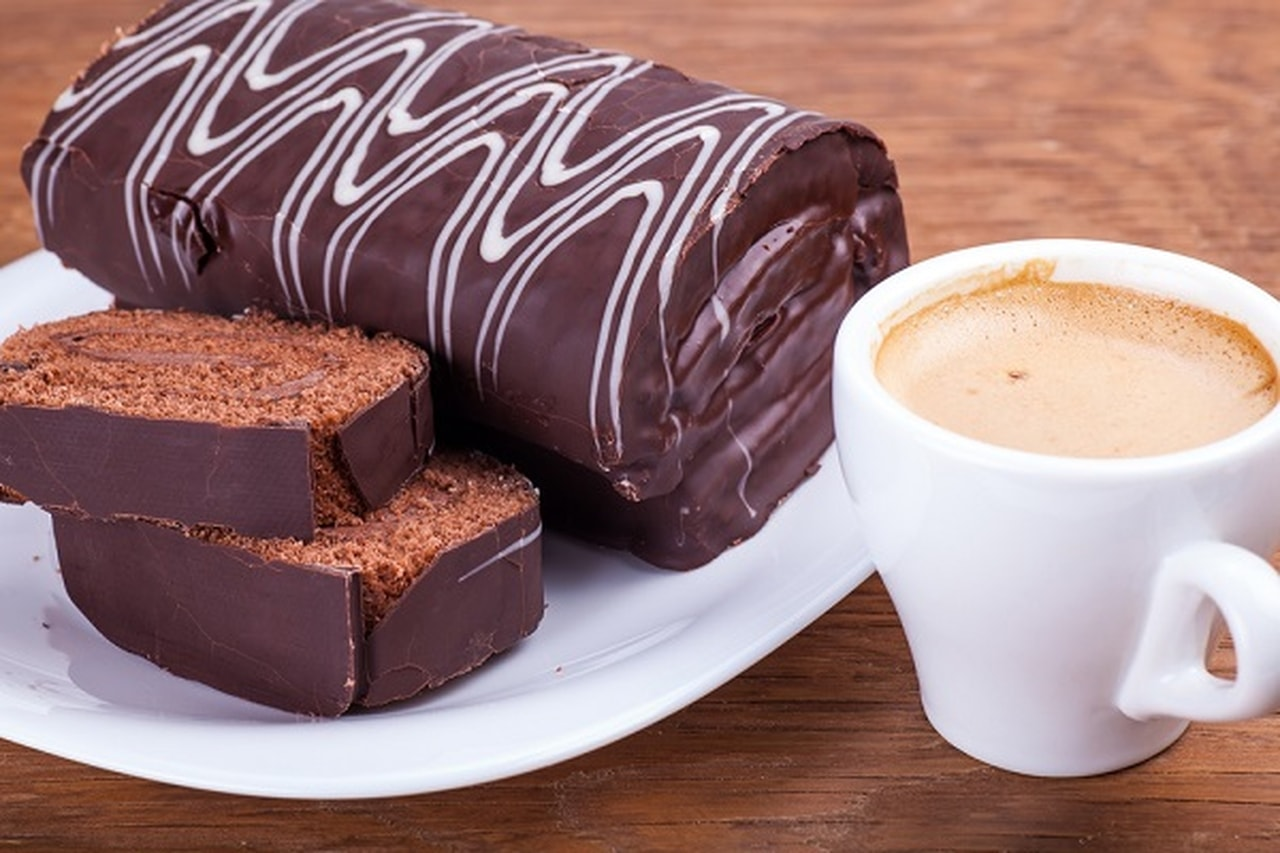 سويسرول الشوكولا