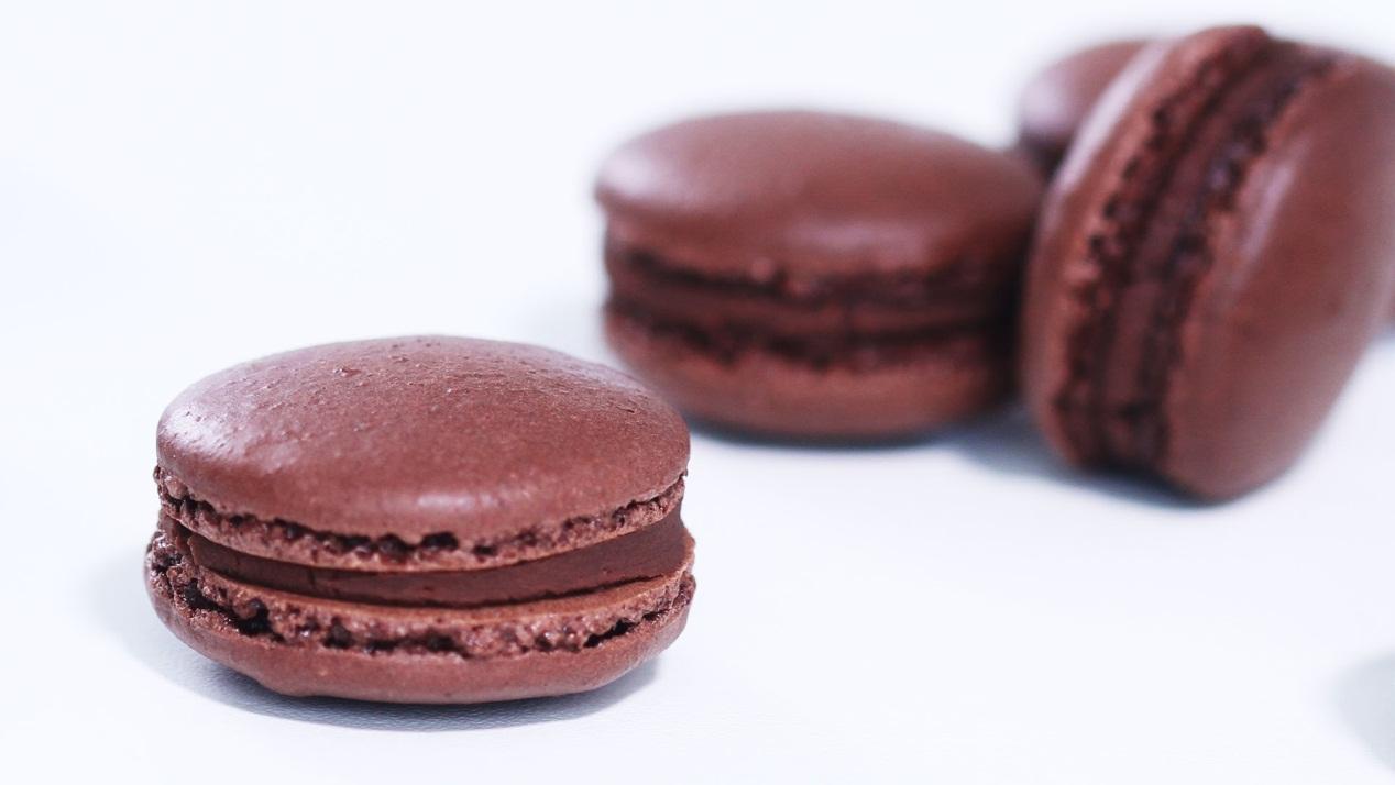 ماكرون الشوكولا