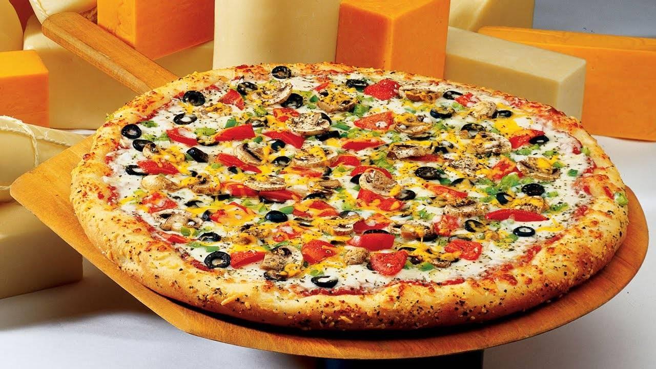بيتزا شجرة العام الجديد