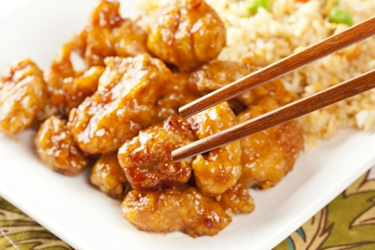 دجاج على الطريقة الصينية