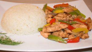 فاهيتا الدجاج والأرز