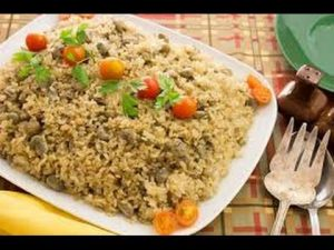 الأرز بالفول