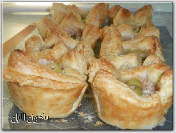 كرات باف الدجاج المقلية