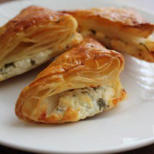البرك التركية بالجبن