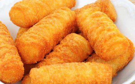 أصابع البطاطس بالجبن