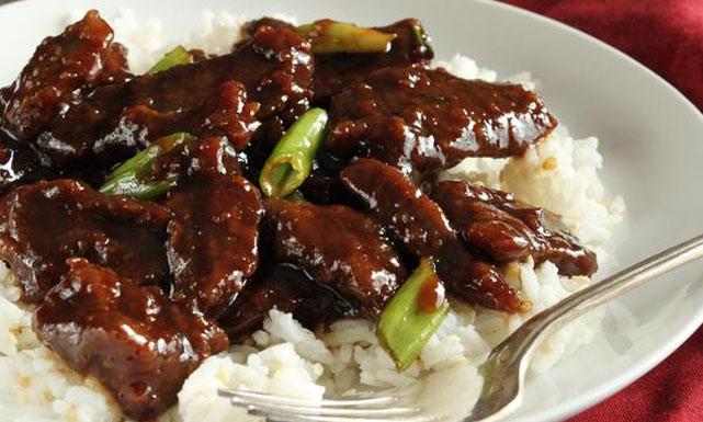 اللحم المقرمش على الطريقة الصينية