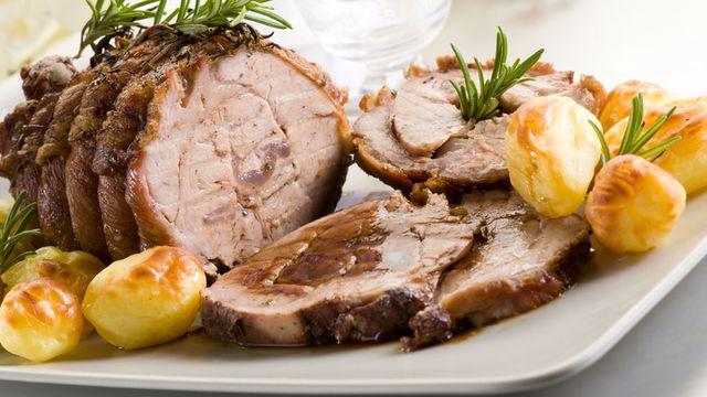 روستو اللحم على الطريقة اللبنانية