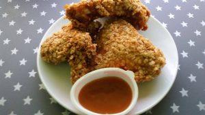 بروستد الدجاج بالشوفان