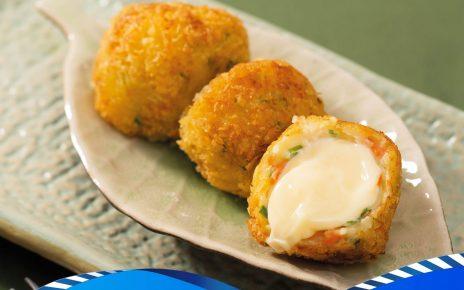 طبخ كرات الدجاج بالجبن