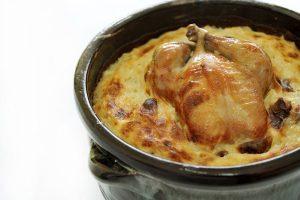 برام الأرز المعمر بالدجاج
