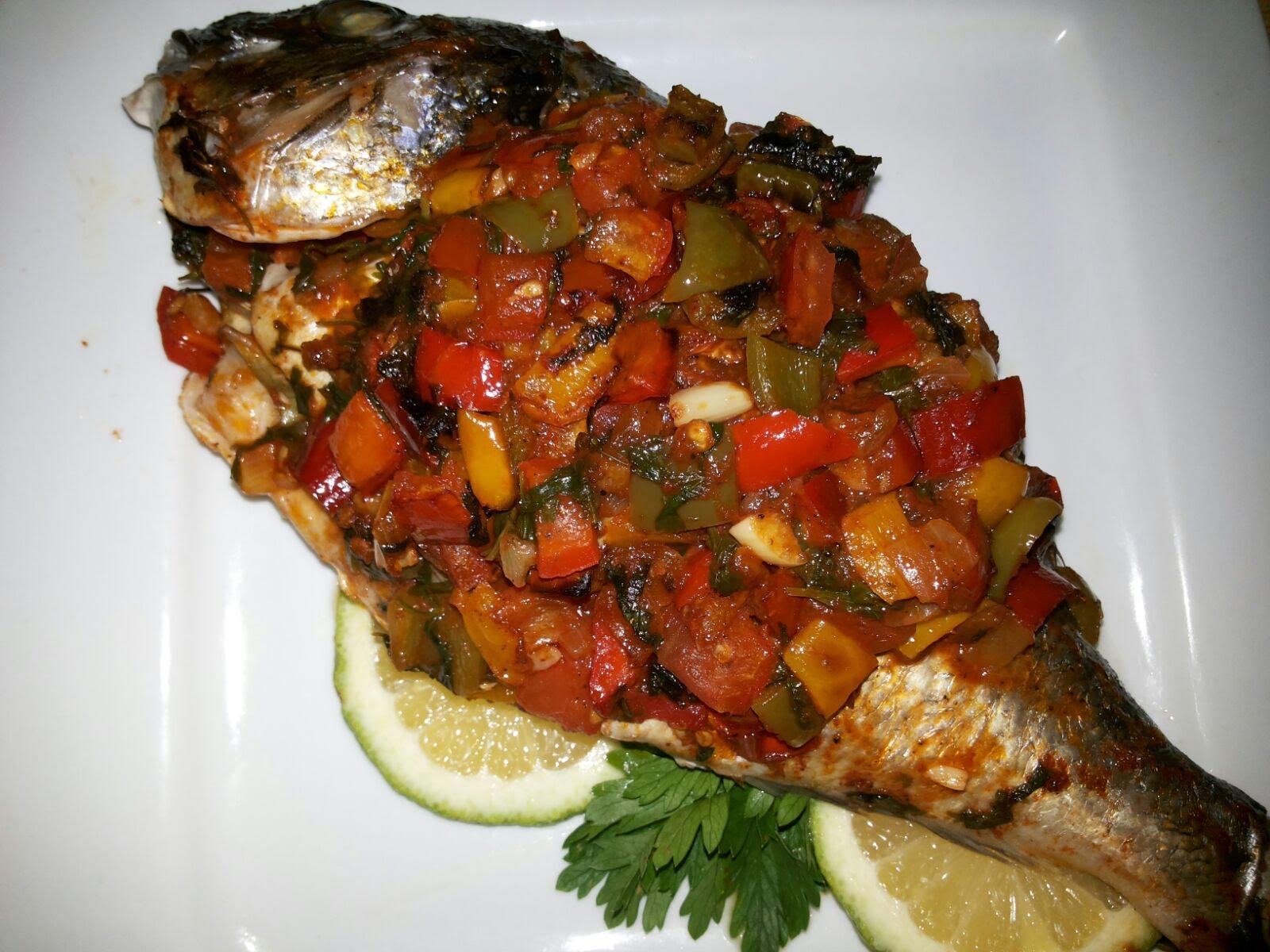 السمكة الحارة الطرابلسية