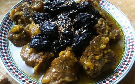 اللحم بالبربوق المغربي