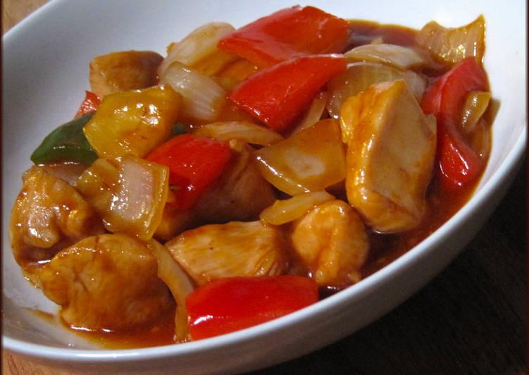 الدجاج الصيني الحامض والحلو