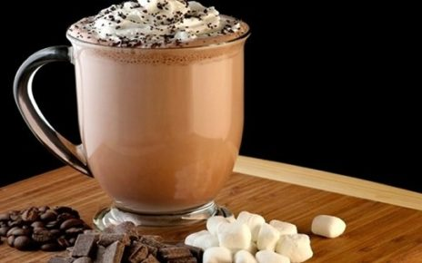 قهوة الموكا بالكريمة والشوكولا