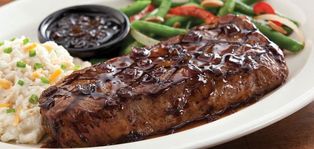 لحم التنديرلوين المشوي