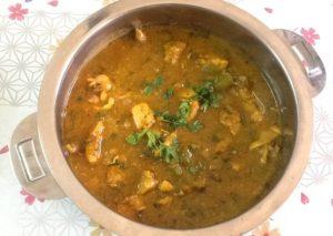 إيدام هندي بالدجاج والزبادي