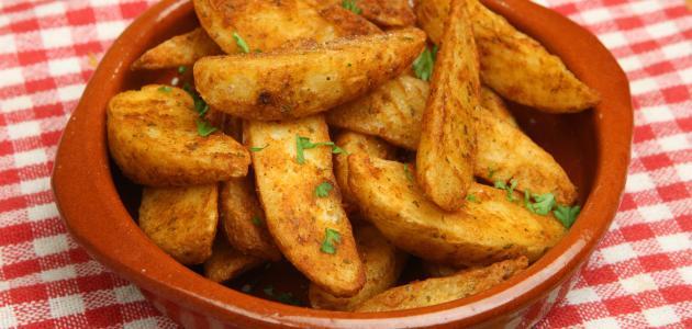 بطاطس ودجز بالجبن