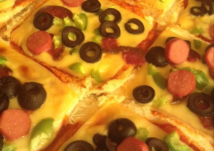 البيتزا الكذابة