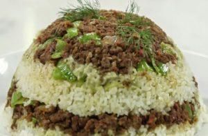 الأرز بالكلاوي