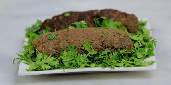رغيف اللحم بالبصل المكرمل