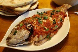 سمكة حرة فلسطينية