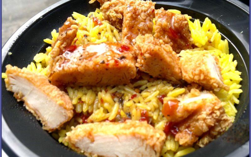 أرز ريزو مع فراخ كنتاكي