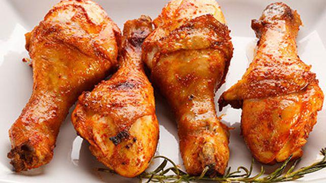 دجاج بإكليل الجبل