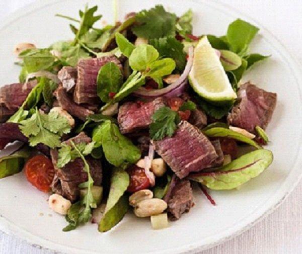 سلطة اللحم التايلندية