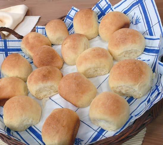 خبز الصمون بالحليب