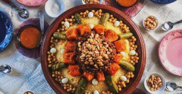 الكسكس المغربي التقليدي