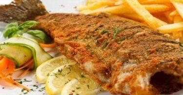 سمك الدنيس المقلي