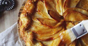 فطيرة تفاح فرنسية