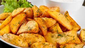 أصابع البطاطا المقلية