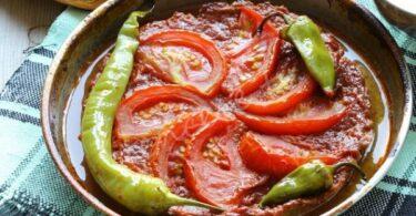 صينية الكفتة بالطماطم