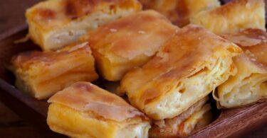 بقلاوة الجبن والبيض
