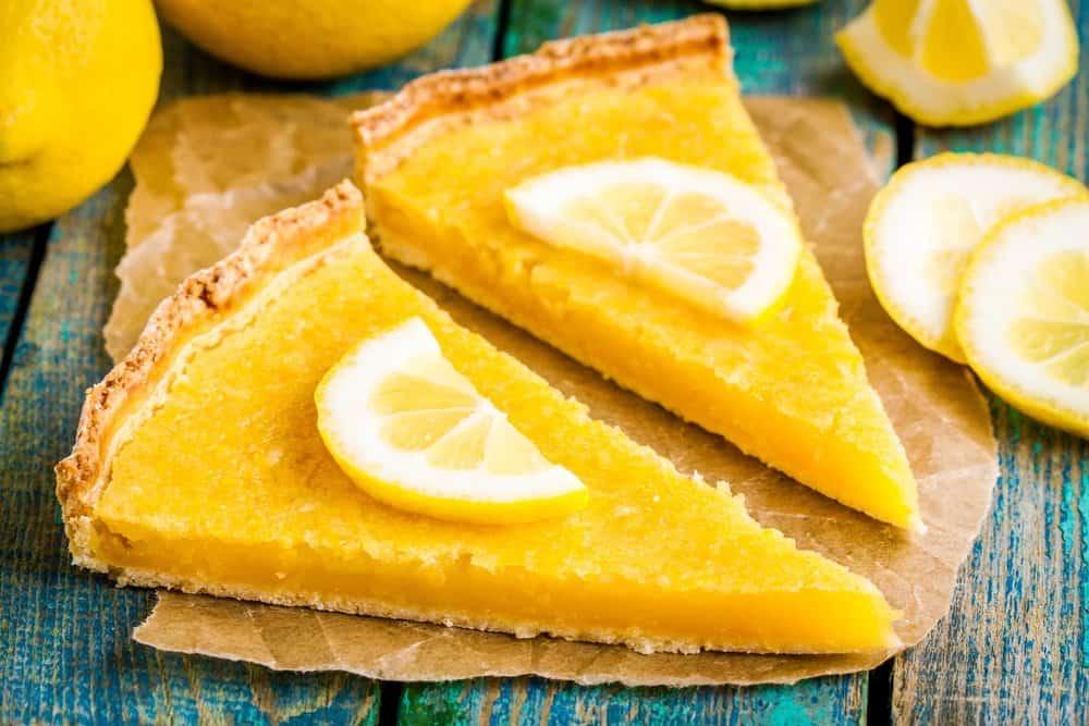 تارت الليمون الحامض بالعسل